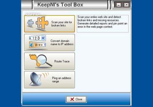 KeepNI Tools