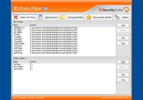 ID Data Wipe