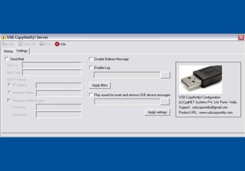 USB CopyNotify