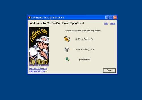 CoffeeCup Free Zip Wizard