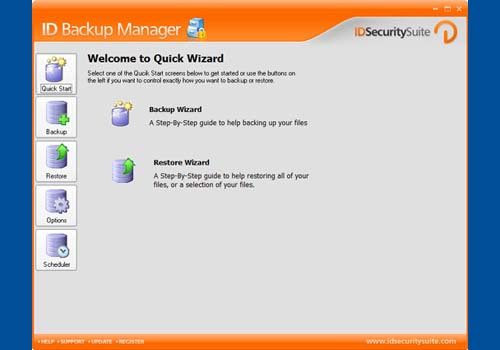 ID Backup Manager