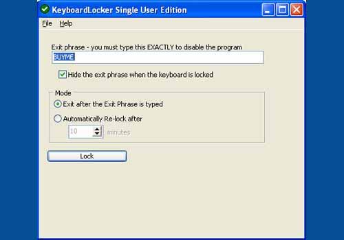 KeyboardLocker