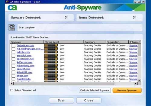 CA Anti-Spyware