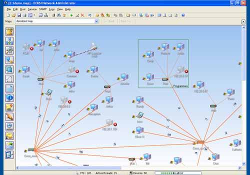 DEKSI Network Administrator