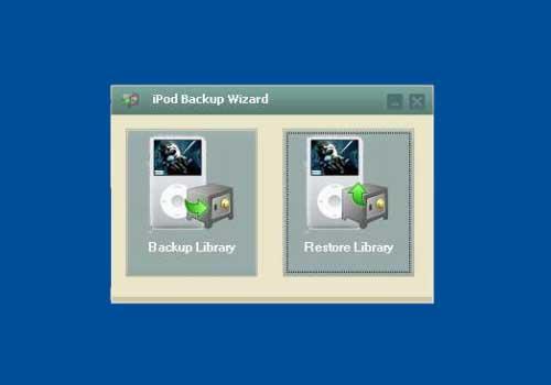 iPod Backup Wizard