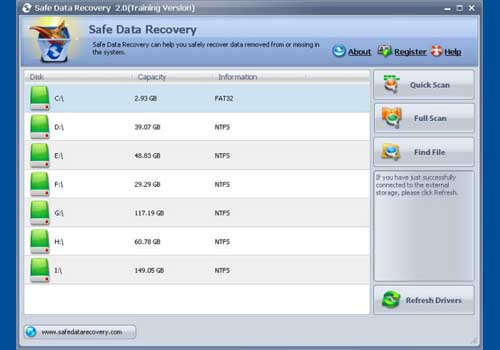 Safe Data Recovery
