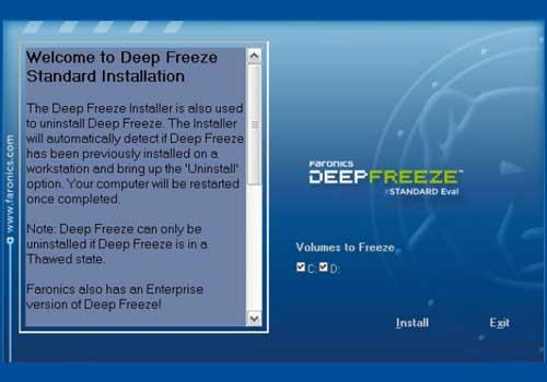 Deep Freeze Standard