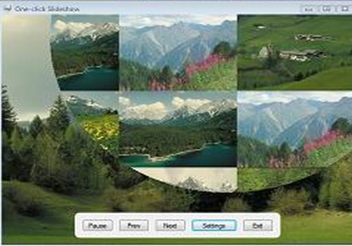 One-click Slideshow