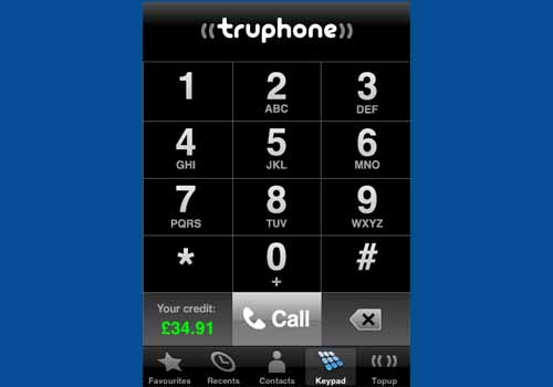 Truphone for iPhone