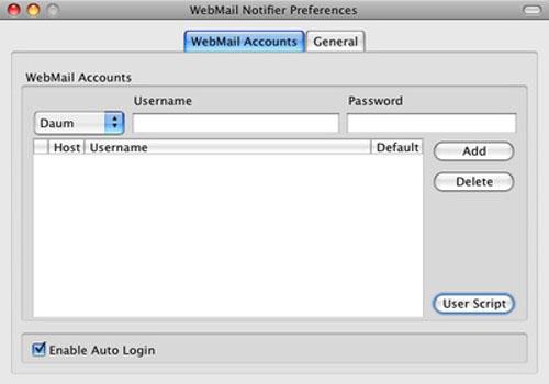 WebMail Notifier