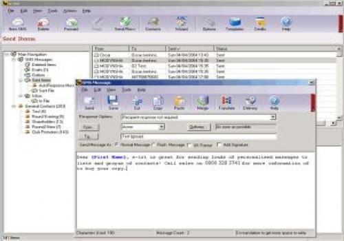 e-txt SMS Message Manager