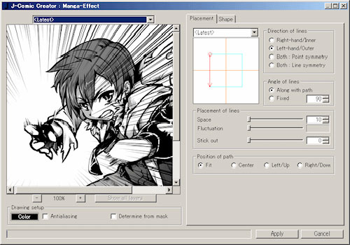 Photoshop Manga Effect