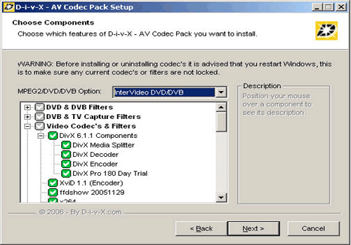 AV Codec Pack