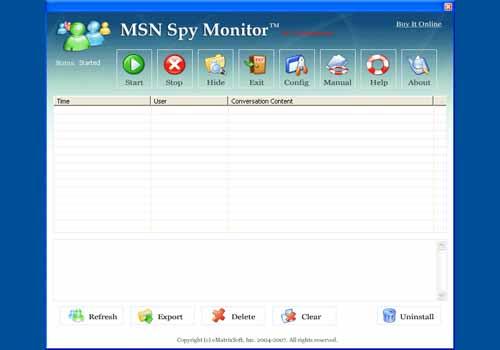 MSN Spy Monitor