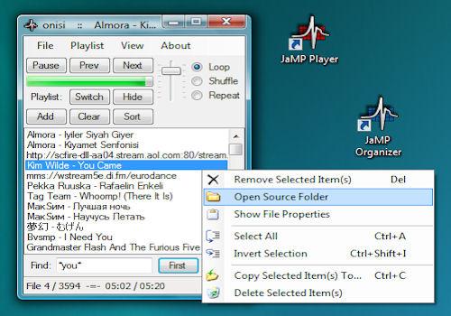 JaMP Player