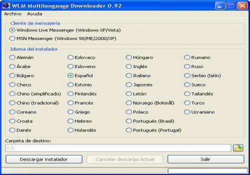 Multilanguage Downloader