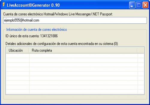 Live Account ID Generator