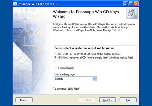 Passcape Win CD Keys