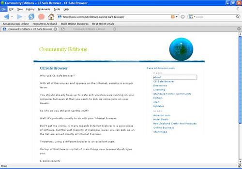 CE Safe Browser