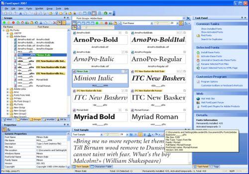 FontExpert 2009