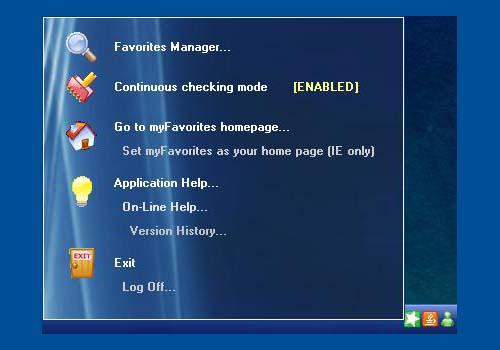 myFavorites Homepage