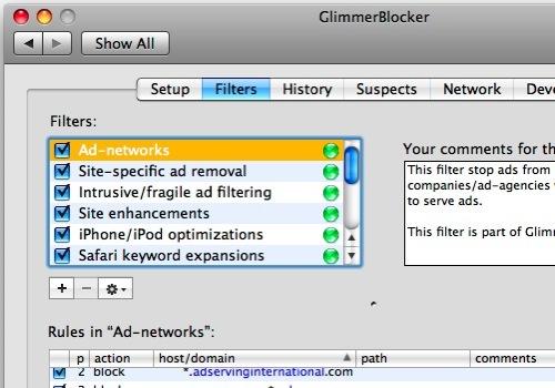 GlimmerBlocker