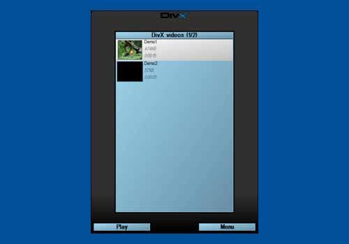 Pocket DivX Player