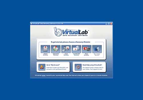 VirtualLab Data Recovery