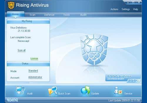 Rising Internet Security 2009