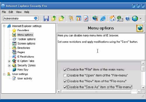 Internet Explorer Security Pro