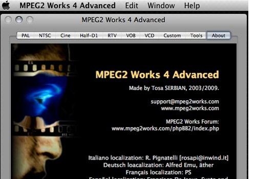 MPEG2 Works 4 Advanced