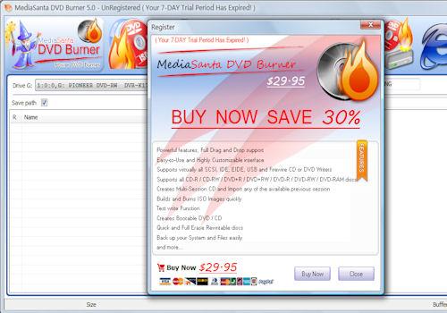 MediaSanta DVD Burner