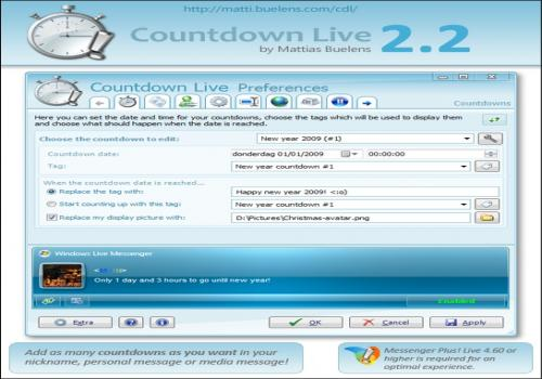 Countdown Live