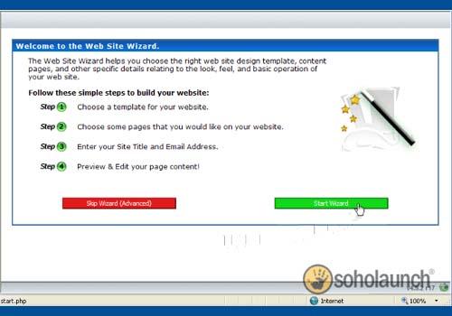 Soholaunch Website Builder