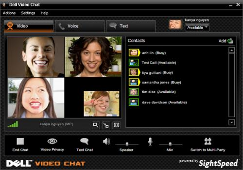 Dell Video Chat