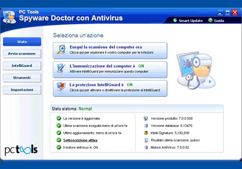 Spyware Doctor con Antivirus 2010
