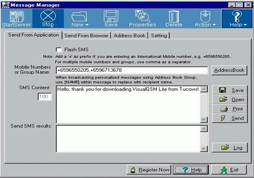 Visualtron SMS Gateway