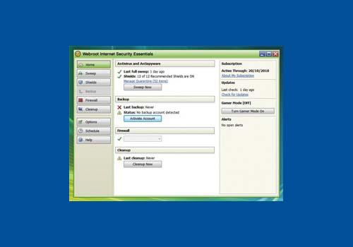 Webroot Internet Security Essentials