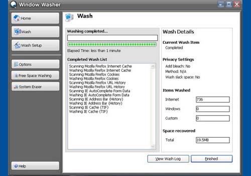Webroot Window Washer
