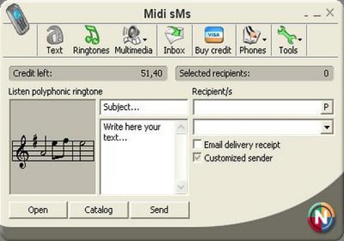 Midi SMS