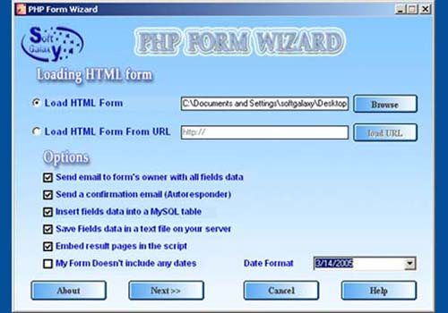 PHP Form Wizard