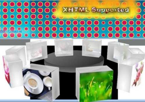 3D Flash Slideshow Maker
