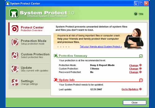 System Protect