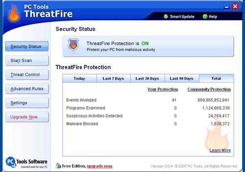 ThreatFire AntiVirus Free Edition