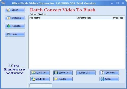 Ultra Video To Flash Converter