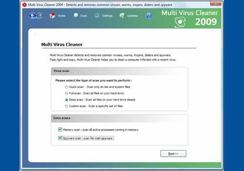 Multi Virus Cleaner 2009
