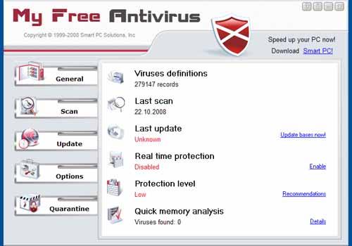 My Free Antivirus