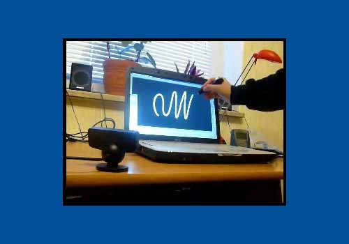 Webcam Whiteboard