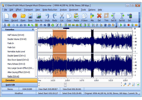 SuperEZ Wave Editor