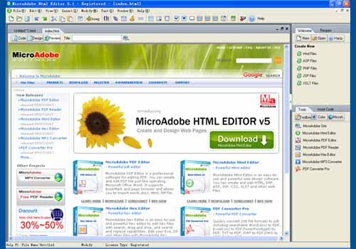 Abdio Html Editor